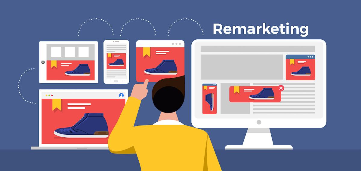 Re-marketing sẽ hiệu quản hơn khi bộ phận Marketing có được dữ liệu khách hàng