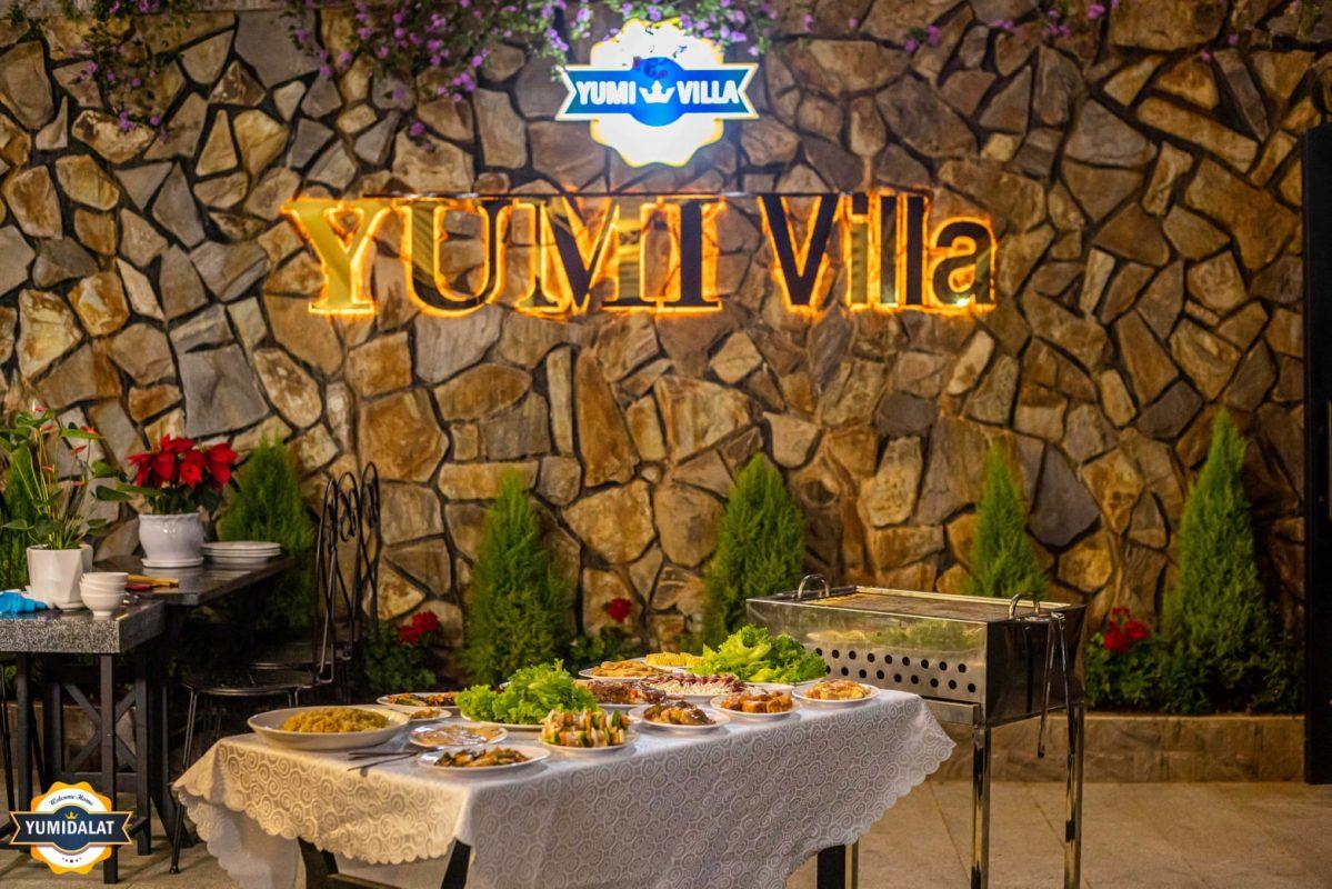 Món ăn tại Yumi Villa