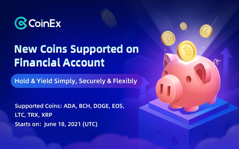 CoinEx Financial Account